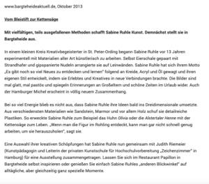 10/2013 Bargteheide Kleines Theater